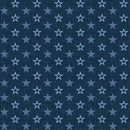 Navy Stars - American Muscle