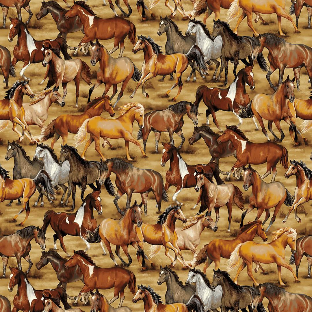 Wild Wild West 5353-44 Horses