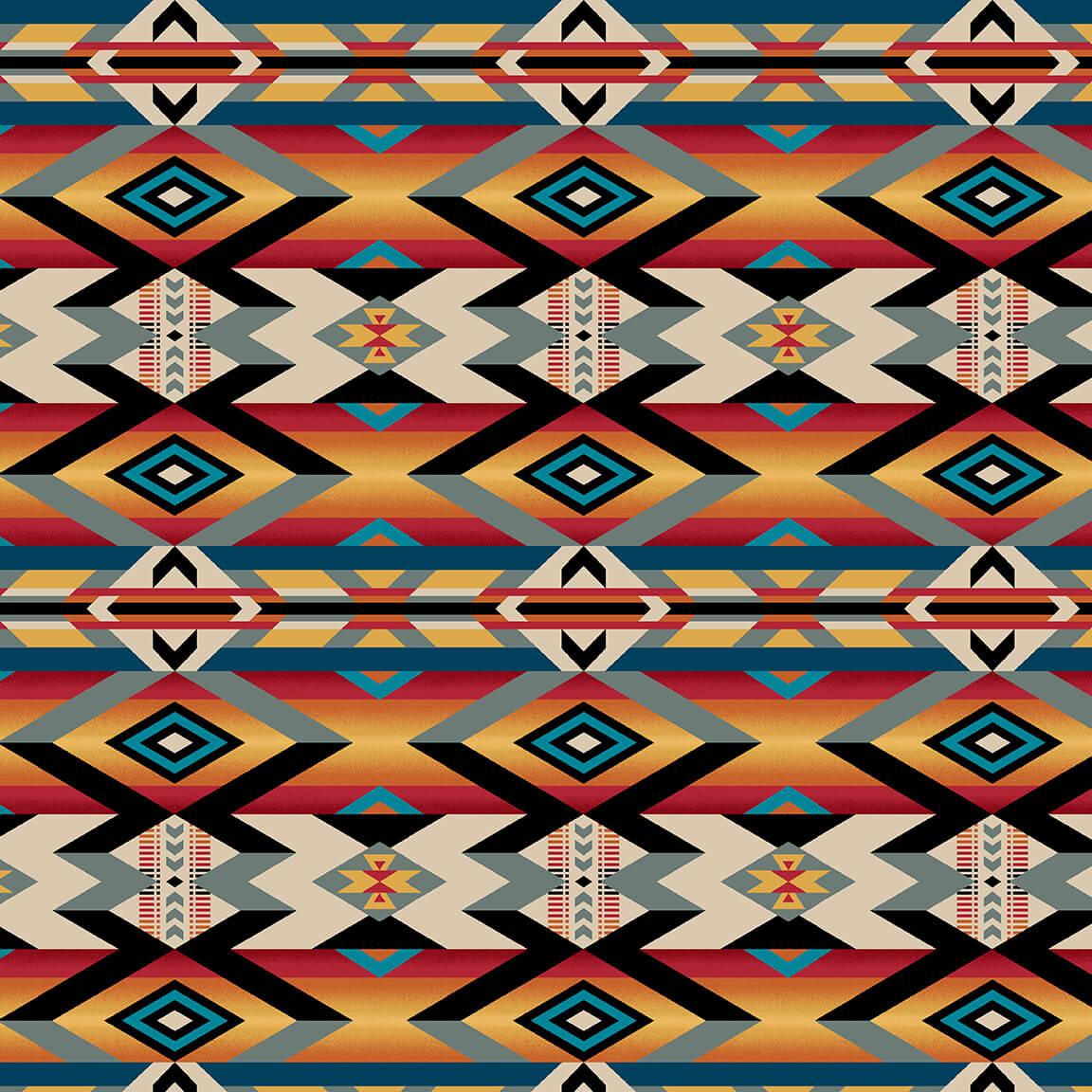 Wild Wild West 5354-89 Serape Blanket