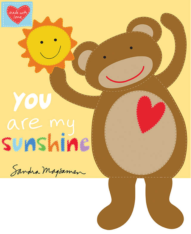 You Are My Sunshine Soft Book