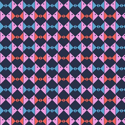 5585-72 Navy Pink