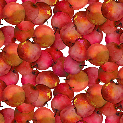 STUDIO- Harvest Whisper Tossed Apples in Red