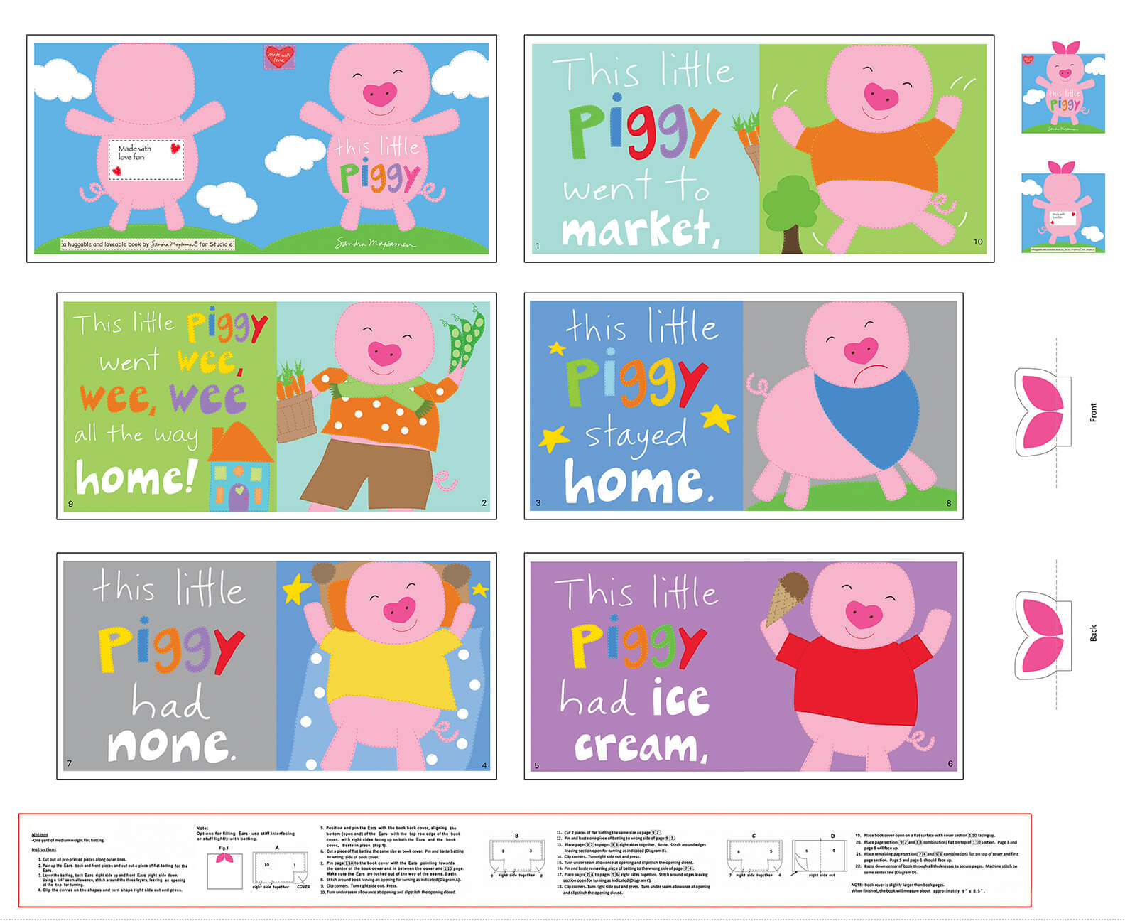 Huggable and Loveable X - This Little Piggy