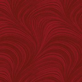 Benartex A Festive Season Red Wave Texture