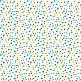Essentials Petite Dots White Multi