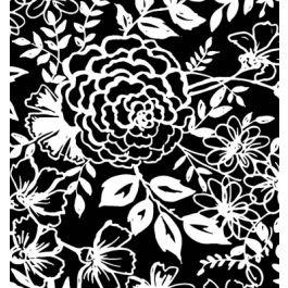 Elements - Black w/ White Floral