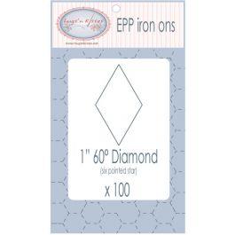 EPP Pre-Cut Iron Ons By Hugs' N Kisses (1 Diamond x 100) EPP09