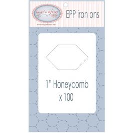 Hugs 'n Kisses EPP Iron Ons - Honeycomb - 1 papers