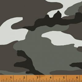 Windham Fabrics Camo Gray