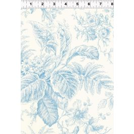 Clothworks Everything Blue Y1285-29 Light Blue