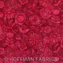Hoffman Batiks Red Velvet
