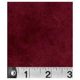 P&B Textiles Suede Brick Red