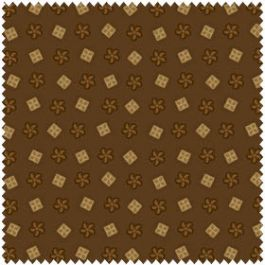 Studio e Fabrics Elementary Brown