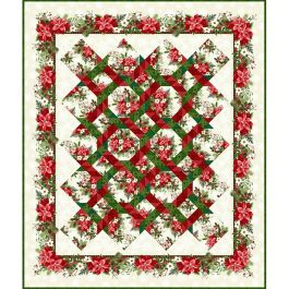 Winter Twist Quilt Kit 2 - 58 x 68 Top