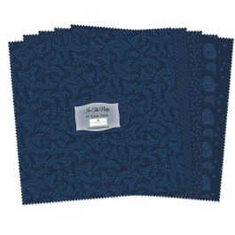 Wilmington Prints In The Navy 10 Squares