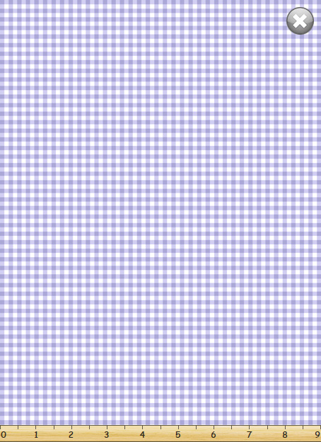 Flutter, the Butterfly -- Gingham Check/Lilac  SB20268-620