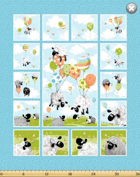 Lewe's Balloons II SB20290-950