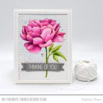 MFT Peony Perfection Stamp 849923035450