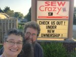 Meet the new Mr. and Mrs. Sew Crazy