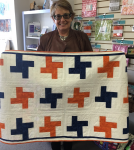 Palmira - her first quilt - BEAUTIFUL!