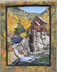 Diana Roberts, Crystal Mill, Art Quilt 2nd