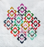 Love links Quilt - multi color