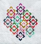 Love links Quilt - multi color
