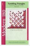 Studio 180 Design Tumbling Triangles Modern 180 quilt pattern