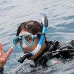 We teach diving