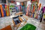 Second floor ski shop