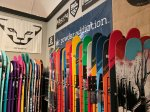 Featuring local and independent ski brands