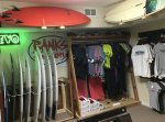 Spacious Surfboard Room