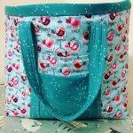 2 fabric Knitting Bag