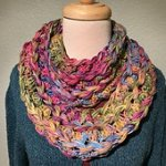 Hairpin Lace Cowl