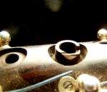 Bent Saxophone Octave Key