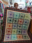 Grand Illusion quilt, by Stacy Spradlin