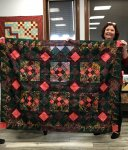 Amy finished her mystery quilt from 2018. 3/11/20