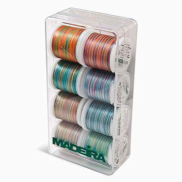 POLYNEON BLENDABLES THREAD PACK 8015 GIFT BOX THREAD 8 SPOOL