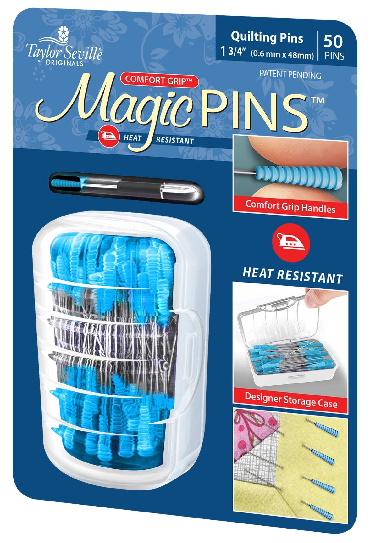 Magic Pins Quilting Pins - 50 Pins