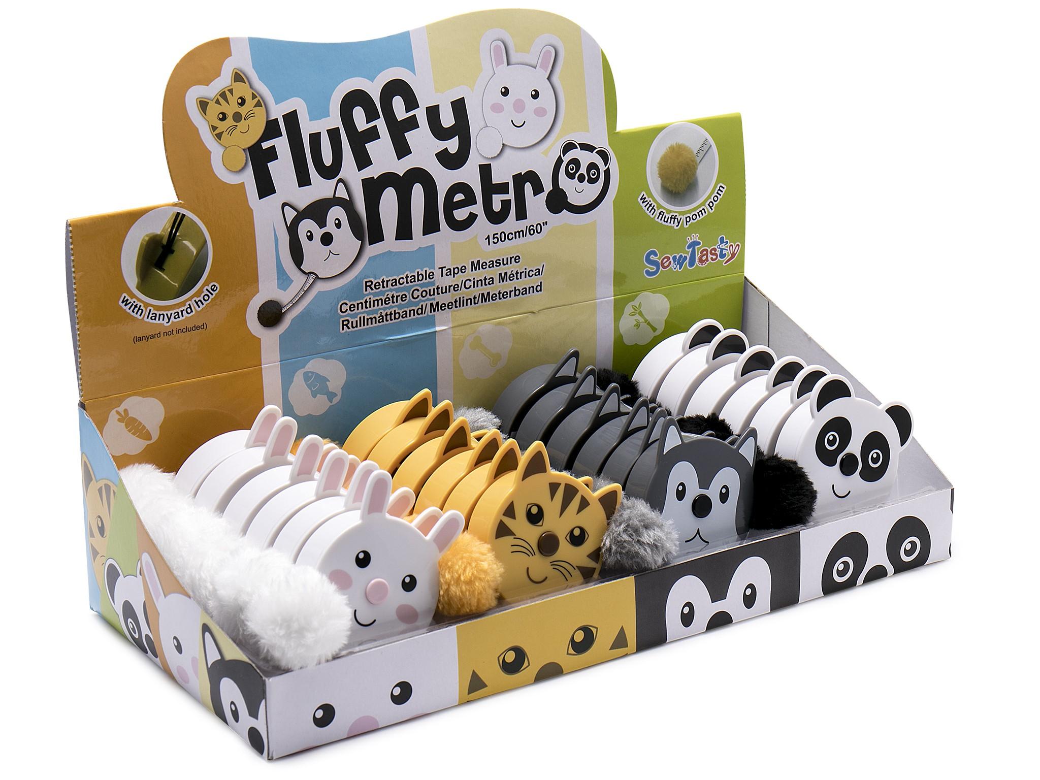 Fluffy Animal Tape Measure