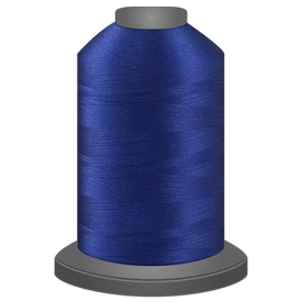 Glide Bright Blue 5,500yd -  Color # 30288 Polyester