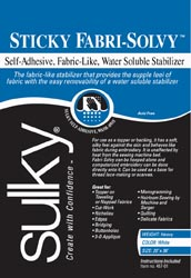 Sticky Fabri-Solvy