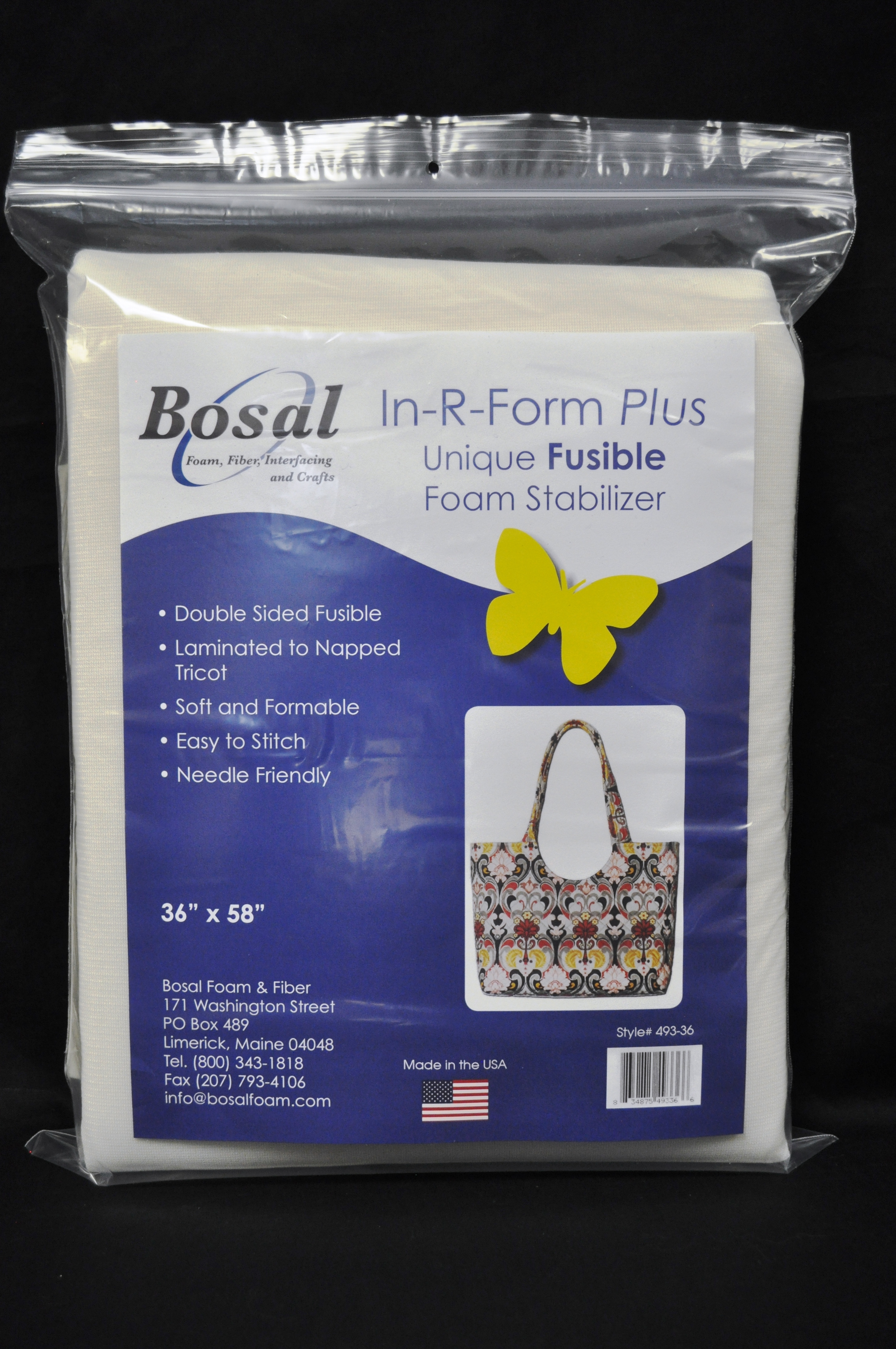 In-R-Form Plus Double Sided Fusible Foam Stabilizer 36 x 58