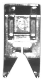ZZ PRESSER FOOT SNAP ON RICCAR FA762 R750 R650 R551