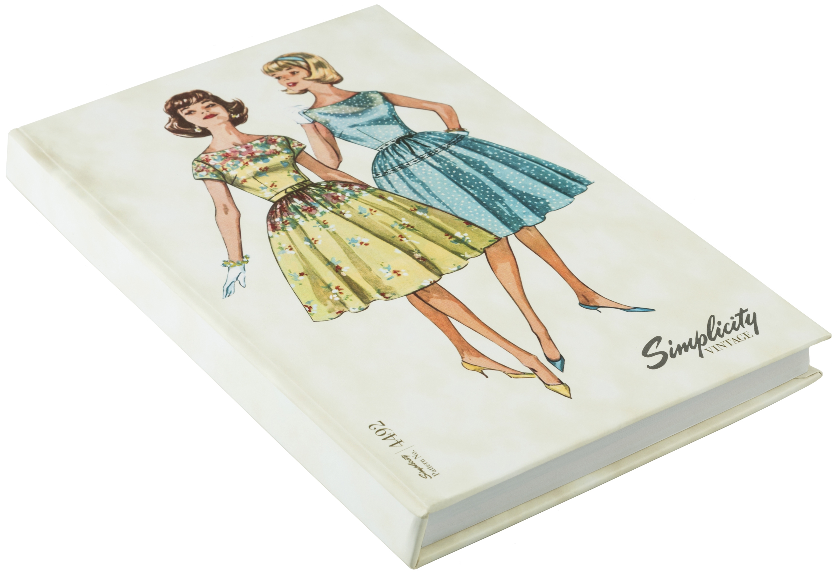 Simplicity Vintage Hardcover Notebook