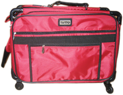 TUTTO 22 MACHINE ON WHEELS LUGGAGE LUGGAGE CHERRY RED