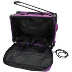 TUTTO 22 MACHINE ON WHEELS LUGGAGE LUGGAGE PURPLE
