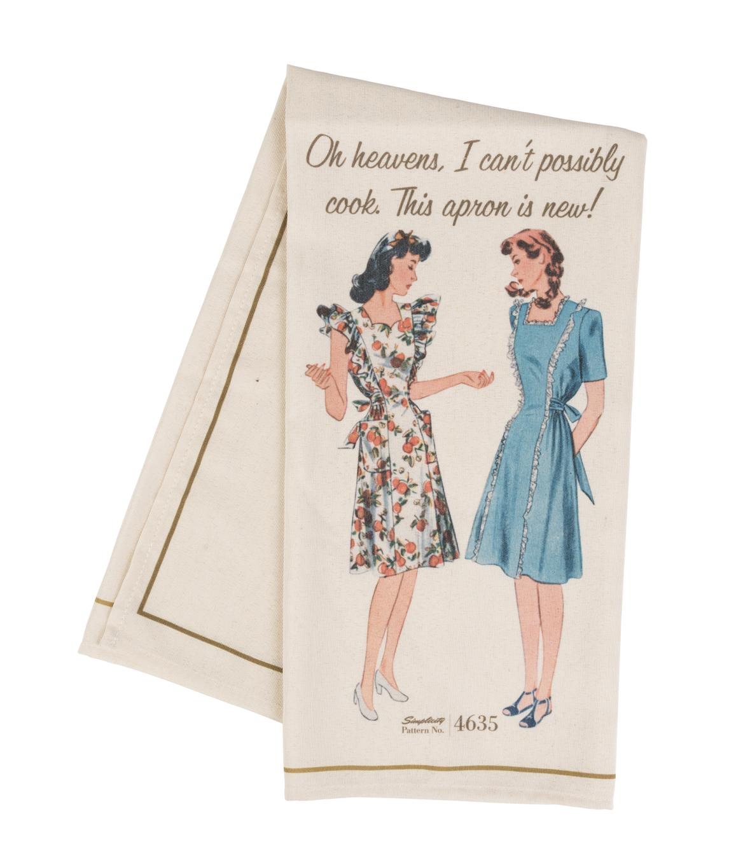 Simplicity Vintage Tea Towel - Pattern 4635