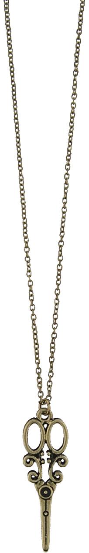 Scissor Necklace - Gold