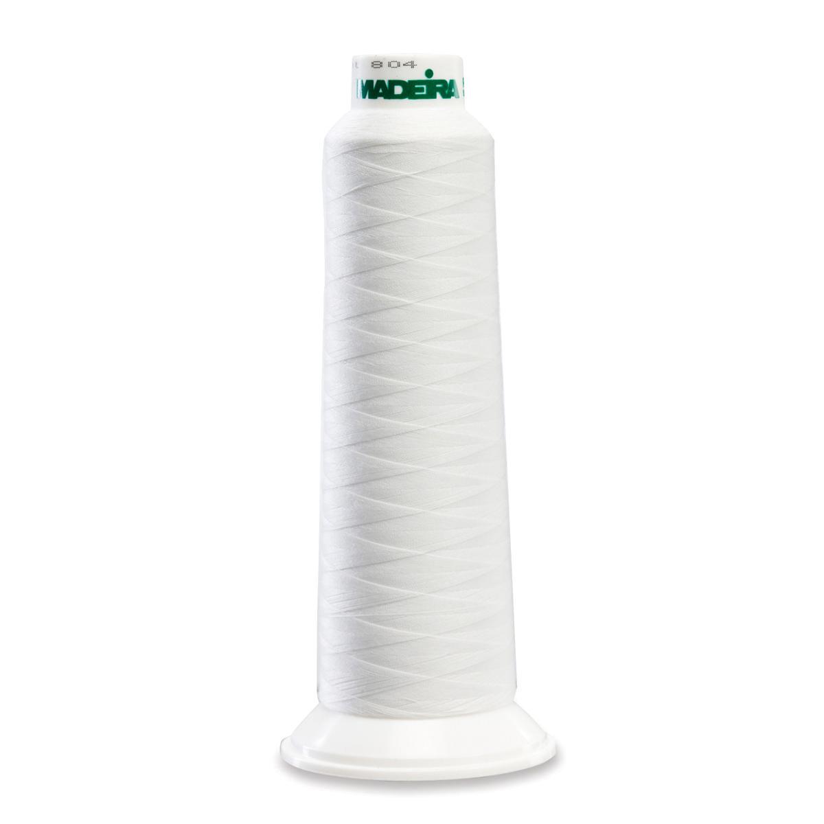 8010 White Poly Serger Thread Madeira Aerolock